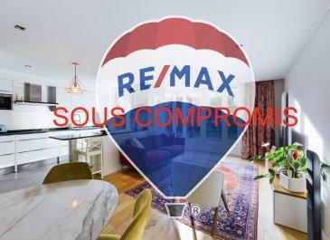 **** SOUS COMPROMIS ****<br><br>Visite virtuelle : https://premium.giraffe360.com/remax-partners-luxembourg/e16096a5f87a445797b2d1faac0e3e59/<br><br>RE/MAX, spécialiste de l\'immobilier à Esch-sur-Alzette vous propose en exclusivité à la vente ce très bel appartement avec jardin, décoré avec beaucoup de gout et avec des matériaux de qualités.<br>Il se situe au premier étage d\'une résidence de 2011 avec ascenseur et dispose d\'une superficie habitable de 81 m². Il se compose de la manière suivante :<br><br>Un hall d\'entrée avec placard, d\'un grand séjour/salle à manger de plus de 40 m² avec un premier accès vers une grande terrasse en bois de 17 m² exposée Sud-Est et le jardin de 55 m², une cuisine équipée ouverte sur le séjour (équipements Siemens complet) avec un second accès vers l\'extérieur, une première chambre de 12 m² avec une grande partie dressing, une seconde chambre de 10 m², une belle salle de douche (douche italienne, vasque double, rangements), un WC indépendant, un débarras avec connexion pour machine à laver.<br><br>À l\'extérieur : une grande terrasse en bois de 17 m² exposée Sud-Est, un jardin arboré de 55 m².<br><br>Pour compléter ce bien : un emplacement intérieur, deux caves (possibilité d\'en convertir une en buanderie privée, et une seconde de presque 10 m²).<br><br>Caractéristiques supplémentaires : chauffage au gaz, double vitrage, volets électriques, concierge dans la résidence, tri sélectif, jardinier (compris dans les charges), etc?<br><br>Disponibilité à convenir.<br><br>La commission d\'agence est incluse dans le prix de vente et supportée par le vendeur.<br><br>Contact : Louis MATHIEU au +352 671 111 323 et/ou louis.mathieu@remax.lu