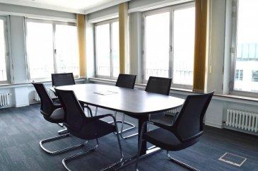 Remax et Mélanie MENAZLI , spécialistes de l\'Immobilier à Luxembourg vous proposent à la location votre futur espace de travail. <br><br>Produits rares ! Bénéficiez d\'un bureau individuel au cœur de Luxembourg ville. <br>Au septième étage d\'un bâtiment situé Boulevard Royal, vous disposez d\'un bureau meublé ainsi que d\'un accès à une salle de réunion à votre disposition. <br><br>Trois bureaux sont disponibles :<br>-Deux bureaux d\'environ 12m² à  1250 euros / mois chacun<br>-Un bureau d\'environ 9 m² à 1100 euros / mois  <br>100 euros de charges / mois comprenant Wifi , accès à l\'imprimante, nettoyage etc. <br>Disponibilité : 1er Octobre 2018<br><br>Contact : Mélanie MENAZLI<br>email : melanie.menazli@gmail.com<br>GSM : 00352 621 785 132<br />Ref agence :5095972