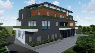 Objet rare pour investisseurs. 9 appartements et  un commerce de 135 m2 en vente, plusieurs parkings intérieur et extérieur. Beau terrain plat Rendement locatif autour de 14.000 € / mois  Appartement 165,27m2     1ch. à coucher Appartement 271,27      m2     1ch. à coucher Appartement 378,45      m2     1ch. à coucher Appartement 469,62      m2     1ch. à coucher Appartement 578,77m2     1ch. à coucher Appartement 693,69m2     1ch. à coucher Appartement 775,65m2     1ch. à coucher Duplex 8132,87 m2          57,82 m2+ 75,05 m2 Duplex 9234,45 m2 - 91,25 m2+ 143,2 m2  Total900,04m2  Commerce143,2 m2  1043,24 m2  16 emplacements intérieur 12 emplacementsextérieur
