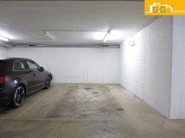A louer : 1 très grand emplacement intérieur dans un parking souterrain avec accès facile dans une résidence sécurisée à Limpertsberg.   Surface: 16,60 m2 ( 3,32 X 5 m )   N'attendez plus, contactez-nous par mail sur info@gng.lu ou au 621 366 377.   Découvrez toutes nos offres sur www.gng.lu