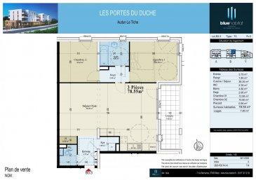 BELARDIMMO vous propose à la vente un appartement neuf avec 2 chambres à coucher à Audun-Le-Tiche, commune située à 5 minutes de la frontière   Cet appartement fait partie du programme appelé