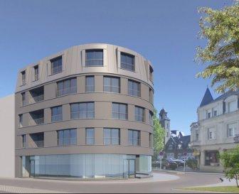 **sous compromis ** À vendre appartement de 87.46 m2 dans une nouvelle Résidence au centre de Dudelange proche de toutes commodités: Crèche, parc, commune, transport en commun, commerces, etc... La Résidence