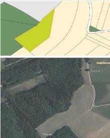 Terrain non constructible en zone verte    Pour plus d'informations veuillez contacter :  Immobiliare S.A Foetz +352 691 133 788 www.immobiliare.lu