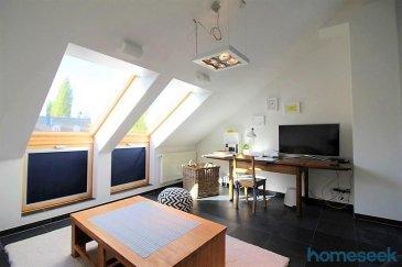 ***English version below*** Homeseek Limpertsberg (contact direct 621 366 194) a le plaisir de vous proposer un très bel et spacieux appartement une chambre, meublé et équipé, d'environ 72m², libre de 3 côtés, récent et lumineux, sis au 2ème étage sans ascenseur d'une petite résidence. La vue du balcon est charmante, elle donne sur le village et la campagne.  Cet appartement est composé de :  -1 hall d'entrée, -1 living/salle-à-manger, -1 cuisine équipée ouverte, -1 chambre, -1 balcon et 1 débarras, -1 salle de bain (lavabo, baignoire/douche et wc), -1 w.c. séparé, -1 emplacement de parking intérieur, -1 emplacement de parking extérieur, -1 emplacement dans la buanderie commune avec lave-linge et sèche-linge privatifs, -1 petite cave.  Equipements : Télévision SAMSUNG, internet haut débit, meubles de rangement, penderie, miroir sur pied, serviettes et literie, vaisselle, ustensiles de cuisine, table et chaises sur le balcon, matériel d'entretien (aspirateur, fer à repasser ...), lave-linge et sèche-linge à  Environnement : Reckange appartient à la Commune de Mersch, l'appartement se trouve à 4 minutes en voiture de la gare de Mersch, à 5-6 minutes des lycées, très proche des accès autoroutiers, du centre commercial ... A 10 minutes des grandes sociétés implantées à Colmar-Berg et dans la zone industrielle.   Disponibilité : 1er mai 2020 Durée du bail : un an automatiquement renouvelable Conditions financières :  Loyer mensuel : 1590€ Charges forfaitaires : 200€ (eau, chauffage, taxes communales, entretien des communs), 50€ électricité, 60€ internet haut débit, 100€ ménage 2h/15jours. Caution : 4000€. Frais d'agence : 1 mois + TVA 17%.  Pour davantage de renseignements ou une visite, merci d'appeler Fabienne Toussaint au 621 366 194. Référence agence : 4921755-HL-PB/FT  ***English version*** Homeseek Limpertsberg (direct contact 621 366 194) is delighted to offer you a beautiful and spacious 1-BR apartment, furnished and equipped, of +/-72sqm, semi-detached building,