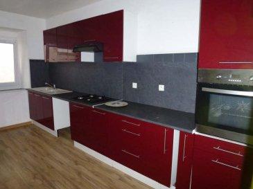 Appartement duplex BITCHE - 4 pièce(s) - 115 m². Bitche :  très spacieux appartement duplex 1er et 2eme etage, composé d\'une pièce à vivre avec poêle à pellets, cuisine équipée, 3 chambres + bureau, salle de bain et salle d\'eau.  DPE vierge ~500 Euros + 45 euros de charges.  Honoraires d\'agence : 500 euros  ttc Contact Nord Sud Immobilier à ROHRBACH LES BITCHE au 03 87 96 33 84