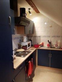 CLOUANGE - LIBRE DE SUITE -<br />Au calme proche forêt appartement mansardé comprenant : Entrée, cuisine équipée, salle d\'eau, WC séparé, une chambre&period;<br />Chauffage individuel électrique-<br />Loyer : 455&period;00 &apos; - pas d\'acompte sur charges mensuelles uniquement taxe sur ordures ménagères -<br />Dépôt de garantie : 455&period;00 &apos;<br />Honoraires TTC à la charge du locataire 455&period;00 &apos; dont 140&period;00 &apos; honoraires état des lieux et 315&period;00 &apos; de rédaction d\'acte |dossier et visite&period;