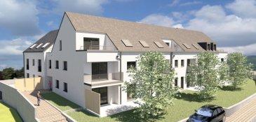 Appartement au rez-de-jardin d'une surface habitable de 105,50 m2 et une terrasse. Il se compose comme suit: 3 chambres à coucher Salon, salle à manger et cuisine équipée ouverte Salle de bains, toilette séparée,  Jardin de 198,70 m2, terrasse 25 m2 2 emplacements intérieurs et un emplacement extérieur.  La résidence An Urbech se situe à Buschdorf (Boevange/Mersch)  dans une situation ensoleillée et verdoyante.  Elle profite à la fois du calme de la région ainsi que de la proximité de Mersch (10min) et de Luxembourg-Ville (25min) avec toutes les commodités quotidiennes. (Pharmacies, écoles, restaurants, centre commerciaux etc)  Elle se compose de 2 blocs:  Le Bloc A 'Laure' dispose de 6 appartements de 1-3 chambres, d'une superficie de 54.18m2-121.81m2.  Le Bloc B '1858' dispose également de 6 appartements de 1-3 chambres, d'une superficie de 73.44m2-127.12m2.  Chaque appartement a été aménagé avec un grand soin de détail et offre des prestations et des matériaux de grande qualité, dont quelques exemples de finitions: -Chauffage au sol réglable individuellement -Triple vitrage -Balustrade en verre -Ventilation double flux individuelle -Revêtement de sol haut de gamme -Equipement sanitaire contemporain et complet.  Chaque appartement dispose d'une cave et d'un emplacement intérieur.  Tous les prix annoncés s'entendent à 3% TVA, sujet à une autorisation par l'administration de l'enregistrement et des domaines.  Garantie décennale, Garantie d'achèvement et Garantie TRC.   Ref agence :5338994