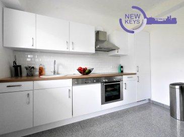 New Keys vous propose en exclusivité ce bel appartement 2 chambres situé à Strassen Reckenthal d'environ 74m2.  Situé au dernier étage d'un immeuble des années 1975, l'appartement a été complétement rénové. Il se présente de la manière suivante:  - Hall d'entrée - 2 Chambres (d'environ 15m2 et 16m2) - Salle de bain avec douche et toilettes - Living avec cuisine équipée et accès au balcon - Balcon avec vue sur l'arrière du bâtiment  Pour compléter ce bien: - Cave privative; - Garage box  - Buanderie commune  N'hésitez pas à nous contacter au 352 691 216 830 ou par mail smarrocco@newkeys.lu pour plus d'informations et/ou une éventuelle visite.    COVID: Pour votre sécurité, nos visites sont effectuées avec des masques.  Les prix s'entendent frais d'agence inclus dans le prix et payable par le vendeur.  Nous recherchons en permanence pour la vente et pour la location, des appartements, maisons, terrains à bâtir pour notre clientèle déjà existante. N'hésitez pas à nous contacter si vous avez un bien pour la vente ou la location. Estimation gratuite.  -------------------------------------  New Keys offers in exclusivity a beautiful 2 bedrooms apartment in Strassen Reckenthal of approximately 74m2.  Located on the top floor of a building dating from 1975, the apartment was renovated in 2012.   Very bright, the apartment is as follows:  - Entrance hall - 2 Bedrooms (approximately 15m2 and 16m2) - Bathroom with shower and toilet - Living room with equipped kitchen and access to the balcony - Balcony with view on the back of the building  To complete this property: - Private basement; - Garage box - Common laundry room  Do not hesitate to contact us at 352 691 216 830 or by email smarrocco@newkeys.lu for more information and/or a possible visit.    COVID: For your safety, visits have to be done with masks.  Prices are understood to be agency fees included in the price and payable by the seller.  We are constantly looking for sales and for rentals, apartments, houses, buildin