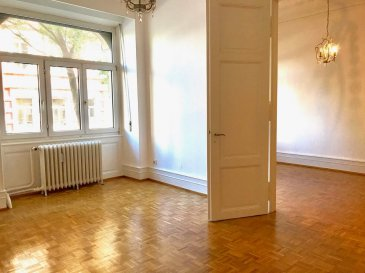 QUARTIER CONTADES - Rue Edouard Teutsch A deux pas du parc, au rez-de-jardin d\'un bel immeuble
