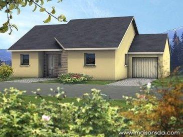 Situé à moins de 5km de Thionville , emplacement de choix, sur un terrain de 3.07 ares dans cadre de verdure, charmante maison (modèle présenté HERMES) de style contemporain avec porche.
