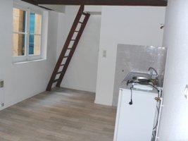 Centre ville : Joli F2 duplex de 40m².  Il se compose d\'un séjour avec coin cuisine, d\'une chambre, d\'une salle de bain et de WC.   Chauffage individuel électrique.  LIBRE FIN JUIN