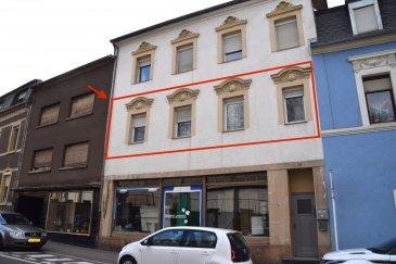 L'agence IMMOLORENA de Pétange a choisi pour vous un très grand appartement de 125 m2 , situé à Dudelange au premier étage sans ascenseur, il se compose comme suit:  Au premier étage: - Un hall d'entrée de 7,29 m2 - Un débarras de 1,21 m2 - Une cuisine équipée de 10,07 m2 - Une chambre de 10,31 m2 - Une deuxième chambre de 15,44 m2 - Une troisième chambre ou bureau de 13,54 m2 - Une salle de bain 10,17 m2 donnant accès au petit balcon de 1,36 m2 - Un double living de 23,78 m2 - Un petit hall de nuit de 2,17 m2 donnant accès au balcon de 5 m2  Troisième étage: - Une chambre se composant comme suit:  - Un hall de 3,17 m2 - Une salle de bain avec douche de 4,41 m2 - Un chambre 22,97 m2 avec kitchenette  Ce bien dispose également d'un petit studio de 12m2 équipé d'une  kitchenette et d'une salle de douche ainsi que deux caves au sous-sol de 12,72 m2 et 26,29 m2.  Deux jardins de 48,36 m2 et 12,65 m2 viennent compléter ce bien. Chaudière individuelle/à condensation/au gaz/Weishaupt installée en février 2020.   Pour tout contact: Joanna Corvina +352 621 36 56 40  Vitor Pires: +352 691 761 110 Kevin Simões Santos: +352 691 997 874  L'agence ImmoLorena est à votre disposition pour toutes vos recherches ainsi que pour vos transactions LOCATIONS ET VENTES au Luxembourg, en France et en Belgique. Nous sommes également ouverts les samedis de 10h à 19h sans interruption.