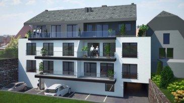 Immomod S.A. vous propose une nouvelle résidence de 7 appartements.  !!! Dernier appartement !!!  La résidence se trouve à 45, route de Luxembourg, L-9125 Schieren.  Elle se compose des appartements de 60 m2 à 145,62 m2 et de 1 à 4 ch. à c..  Un garage-box et une place de parking extérieur sont inclus dans le prix.  Tous les prix annoncés s'entendent à 3% TVA, sujet à une autorisation par l'administration de l'enregistrement et des domaines.  N'hésitez pas à nous contacter pour tous autres informations au 691 143 040 ou 27 99 09 53.