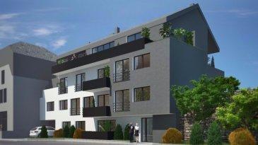 Immomod S.A. vous propose une nouvelle résidence de 7 appartements.  !!! Dernier appartement à vendre !!!  La résidence se trouve à 45, route de Luxembourg, L-9125 Schieren.  Elle se compose des appartements de 60 m2 à 145,62 m2 et de 1 à 4 ch. à c..  Un garage-box et une place de parking extérieur sont inclus dans le prix.  Tous les prix annoncés s'entendent à 3% TVA, sujet à une autorisation par l'administration de l'enregistrement et des domaines.  N'hésitez pas à nous contacter pour tout autre information au 27997740.