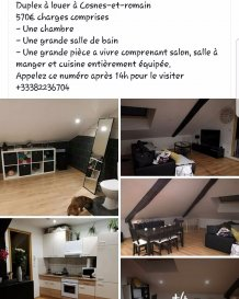 Appartement Cosnes-et-Romain