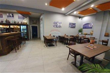 Veuillez contacter Cristina Ferreira pour de plus amples informations : - T : +352 621 504 529 - E : cristina.ferreira@remax.lu  AFFAIRE À SAISIR RAPIDEMENT.  RE/MAX, Spécialiste de l'immobilier à Luxembourg, vous propose, en exclusivité, ce fonds de commerce idéalement situé à Eischen, d'une superficie de 100 m². L'établissement est récent et entièrement équipé et se répartit comme suit :  - Brasserie / Restaurant.  - Grande cuisine équipée et une belle Terrasse.  Pour plus d'informations n'hésitez pas à nous contacter !   Frais d'agence RE/MAX : Les frais s'élèvent à 10 % du Loyer annuel à charge de la partie venderesse