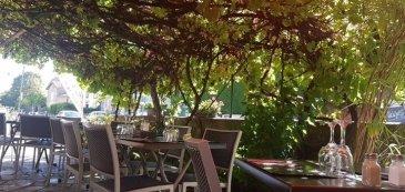 Beau restaurant bar atypique, avec terrasse, potager, bel appartement de 90m2 situé en périphérie de Metz, avec clientèle fidèle tertiaire et de village.  surface 100m2 loyer mensuel ht/hc 1400€ terrasse: 50 couverts  pour plus d\'info, contactez moi au 06.28.42.65.84
