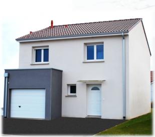 Maison F5 de type R+1 non accolée  Surface Habitable: 84m2 Surface Garage: 14m2  Terrain plat de 488m2 donnant sur la foret.  Située dans le nouveau lotissement à Bousse