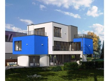 Terrain (+- 7 ares) avec contrat de construction pour une villa (+- 215 m²) libre des 4 côtés.  Situation très tranquille.  La maison pourra être vendue gros-ouvre fermé.