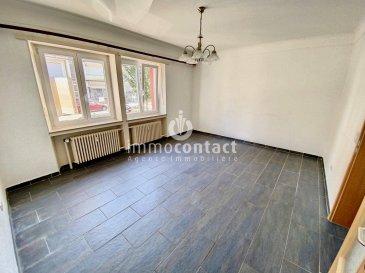 ImmoContact vous propose à la location ce bel appartement situé à Bonnevoie, rue Fernand d'Huart.  Avec une superficie de +/-59m², il se compose comme suit:  - hall d'entrée desservant sur toutes les pièces, - 1 chambre à coucher - séjour de +/-20m², - belle cuisine équipée individuelle donnant sur le jardin - salle de bain - et une cave - emplacement de parking extérieur.  Cet appartement bénéficie également d'un jardin commun.  Il est situé au Rdch surélevé.  L'immeuble a été entièrement rénové (fenêtre, façade, chauffage, cuisine etc...) il y a 12 ans.  Disponibilité: Immédiate  Pour informations, contacter Anastasia Feron au 621/ 75.86.43 ou sur anastasia.feron@immocontact.lu