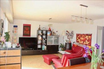 Dans une résidence au calme venez visiter ce lumineux appartement situé au 6e et dernier étage avec ascenseur et sans vis à vis. Composé d\'une entrée, d\'un spacieux séjour avec salle à manger donnant sur une terrasse de 10m2, d\'une cuisine équipée et fonctionnelle avec coin repas, de 2 chambres, d\'une salle d\'eau et d\'un wc. Ce bien saura vous séduire par son agencement et c\'est aménagement. Celui-ci dispose de plus, d\'un débarras, de placards, d\'un cellier attenant et d\'un garage. La copropriété est équipée du système de chauffage par géothermie permettant un faible coup de chauffage et de charges.Prix de vente 169000? TTC, honoraires de 3.68% à la charges de l\'acquéreur inclus.Votre contact : Virginie Diss 0673153792
