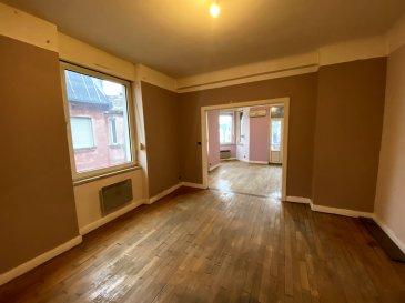Appartement F5. Appartement situé au centre ville, au premier étage dans une petite copropriété. Il se compose d\'un double séjour, une cuisine équipée semi-ouverte, une salle d\'eau, un WC séparé, une buanderie, 2 chambres spacieuses, un bureau et une petite terrasse. Dispose d\'une cave, chauffage individuel électrique.<br/>Copropriété de 3 lots (Pas de procédure en cours).<br/>Charges annuelles : 10.00 euros.