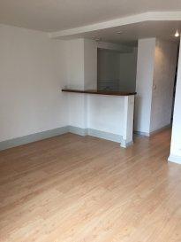2 pièces - 38 m2.  Appartement 2 pièces rénové, situé rue Charles Keller à Nancy. Il comprend une entrée avec placard, une cuisine ouverte sur séjour, une chambre, une salle de bain et WC séparé.<br> Chauffage individuel électrique. Disponible début Septembre 2021.<br>