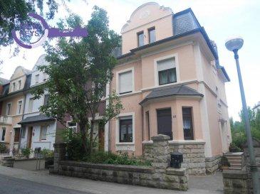 New Keys vous propose cette charmante Maison,libre de 3 côtés, localisée à Esch-sur-Alzette, située dans une rue très calme,  se composant comme de suite:<br><br>Rez de Chaussée:<br>-hall d\'entrée;<br>-Living;<br>-Salon;<br>-Wc;<br><br>1er étage:<br>- 3 chambres;<br>- Salle de douche<br><br>2eme étage:<br>- 3 chambres;<br>-1 bureau;<br>-accès au grenier;<br><br>Sous-sol:<br>-Cave;<br>-Buanderie;<br><br>Exterieur:<br>-Jardin;<br>-Garage;<br><br>Pour plus de renseignements, et/ou demandes de visites, merci de nous contacter au 27 99 86 23 ou par email à l\'adresse info@newkeys.lu<br />Ref agence :5003334