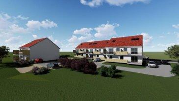 F3 Terrasse Garage parking GRAND STANDING- pour habiter ou investir<br /><br />Cattenom-Sentzich à 15 mn de Thionville au calme dans un environnement verdoyant,<br />A mi-chemin du Luxembourg, 4 résidences de 4 appartements F3 de GRAND STANDING<br />Offrant :<br /><br />un hall d\'entrée, une cuisine ouverte sur salon-séjour 26 m², accès à une spacieuse terrasse de 10 m² offrant une vue ouverte, <br />2 chambres de 11.5 et 10.20 m², une salle de bains de 5.5 m², larges ouvertures vitrées assurant un ensoleillement optimum.<br /><br />Très belles prestations dont :<br />- porte sécurisée<br />- vidéophone<br />- double exposition<br />- double vitrage<br />- volets électriques, <br />- chauffage par le sol et poêle à pellet,<br />- Ballon thermodynamique, radiateur sèche serviette,<br />- Carrelage grès cérame, parquet dans les chambres, <br />- garage équipé d'une porte motorisée et parking.<br /><br />Construction en terre cuite '<br />Isolation extérieure<br />Prestations électriques et sanitaires de haute qualité<br /><br />Prévision DPE : B<br />livraison 2021, RT2012, FRAIS DE NOTAIRE RÉDUITS env. 2.5 %<br /><br />A partir de 168 999 ' le F3<br />Honoraires à la charge du vendeur<br /><br /><br />----------- Simulation investissement locatif<br /><br />Pour un investisseur : location 780 ' mensuel ' Rentabilité 5.43 %<br />----------<br /><br />POUR PLUS DE DÉTAILS, CONSULTEZ-NOUS <br />Agora Immobilier Thionville : 03 82 54 77 77
