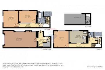 Veuillez contacter Bardia Allami pour de plus amples informations : - T : 621 150 966 - E : bardia.allami@remax.lu  RE/MAX Luxembourg vous propose cette jolie maison rénovée à Bonnevoie, à 2 minutes de Luxembourg-Gare. Le bien dispose d'une surface habitable d'environ 130 m² (sur une surface totale d'environ 150 m²), située sur un terrain de 1,05 ares. Cette maison détenant beaucoup de potentiel se compose comme suit : REZ-DE-CHAUSSÉE : 1 hall d'entrée, Living et salle à manger. 1er ÉTAGE : 1 chambre à coucher avec WC séparé et une cuisine équipée. 2em ÉTAGE : 2 chambres à coucher et une salle de douche, accès au grenier. GRENIER : Surface d'environ 10 m² à aménager. SOUS-SOL : Cave, buanderie, coin technique, stock et débarras.  Plusieurs rénovations effectuées : Circuits électriques, toiture, installation de la chaudière au gaz et plomberie, et enfin le circuit de canalisation et drainages.  Quartier calme et résidentiel, très proche de toutes commodités, à 2 min de la gare de Luxembourg, commerces et crèche à proximité.  Frais d'agence RE/MAX : à la charge de la partie venderesse + TVA.  Visite virtuelle : https://premium.giraffe360.com/remax-select/e1e835f3b4df4e79b1c2ed0d1c625c76/