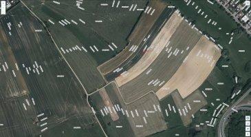 A vendre Terre labourable à Mondercange AUF LOESCHERKOPP                    3 parcelles: 16a30ca ; 10a90ca ; 37a00ca.                                Section B de Mondercange