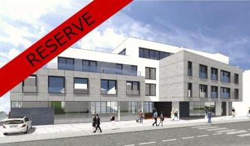 RESERVE - Appartement 3 de 65,04 m2 au 1er étage<br><br>hall<br>WC séparé<br>cuisine-salle à manger-living<br>1 chambre à coucher<br>salle de bains<br>terrasse: 10,09 m2<br><br>cave N°10 de 4,67 m2<br><br>Prix: 242.156,90 € 3% TVAC (sous condition de l\'acceptation du dossier par l\'Enregistrement)<br><br>parking intérieur: 20.585 € 3%TVAC<br><br><br><br>RESIDENCE DU GENÊT<br>rue G.D. Charlotte<br><br>Nouvelle Résidence au centre de Wiltz<br>13 Appartements de 65 à 212 m2<br>3 Commerces de 136 à 184 m2<br><br>Classe énergétique: B-B<br><br>La Résidence DU GENÊT se situe au centre de la ville de Wiltz (commerces, restaurants, clinique, écoles, ...) et à 5 minutes en voiture du centre commercial Pommerloch et de la frontière belge.<br><br />Ref agence :5855