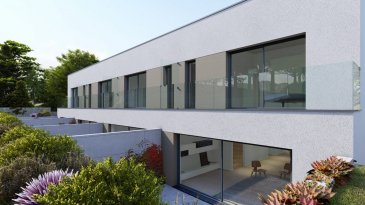 HOMESELL Immo vous propose un projet neuf situé à Lorentzweiler Résidence «PLEIN SUD»  Nouveau projet de construction de 2 maisons bi-familiales à Lorentzweiler, sur un terrain de 10 ares 16 ca, proche de toutes commodités et des routiers grands axes. Le duplex libre de 3 cotés d'une surface habitable 118m² se compose comme suit:  Au Sous Sol: Garage commun avec 8 emplacements au total, caves individuelles entre 5,45 m2 et 5,90 m2 / Chaufferie commune / Buanderie commune / Local poubelle commun / Technique locale Au RDC, avec accès sur la terrasse et le jardin: Salon / salle-à-manger et cuisine ouverte environ 60m² Hall d'entrée de 1,70 m2 WC séparé de 1,35 m2 Terrasse entre environ 24m² Jardin environ 50 m2 Au 1er étage, avec accès à un balcon à l'avant et à l'arrière.  Pour plus de renseignements veuillez nous contacter: info@homesell.lu  Tel: 281122-1 HOMESELL Immo