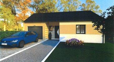 Nous vous proposons en exclusivité un terrain à bâtir hors lotissement à Haucourt-Moulaine (village) à 10 minutes de la frontière luxembourgeoise. Orienté idéalement plein sud, vous pourrez profiter pleinement de votre terrasse et de votre jardin.  Ce projet de construction est en collaboration avec le constructeur Maison d'En France. Il s'agit d'une maison T5 de plain-pied (livraison environ 12 mois après signature du compromis de vente).  Entrée (4.05m²), WC séparé (1.51m²), 3 chambres (11.16/12.83/10.87m²), salle de bains (6.30m²), cuisine ouverte (9.28m²), salon/séjour (35.11m²), 3 placards et un garage pour une voiture avec espace buanderie de 29.57m²  Surface de 95m² + 30m² garage Terrain 479m²  - Chaudière gaz à condensation - Chauffe eau thermodynamique - Panneau solaire photovoltaïque - Alarme Etc...  Contact : Julien FEDELI 06 45 86 33 32