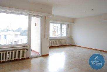 *** LOUE ***   RCI - REFFAY Christophe Immobilien vous présente ici  un appartement spacieux et lumineux en location au Limpertsberg.  Cet appartement se trouve au 2e étage d\'une résidence très bien entretenue de 1973.  Des 2 balcons de cet appartement vous avez une vue magnifique sur le quartier du Limpertsberg.  Voici la composition de cet objet :   - 1 hall d\'entrée avec de grandes armoires intégrées  - 1 grand salon + salle-à-manger de 44 m2 avec accès à 1 balcon de 5,30 m2  - 1 WC séparé  - 1 cuisine équipée récente de 6,65 m2 avec accès à 1 balcon de 3,40 m2  - 1 hall de nuit  - 1 chambre de 16,85 m2  - 1 salle de bains récente avec douche et baignoire de 6,70 m2 - 1 seconde chambre de 15,10 m2 - 1 cave  - 1 emplacement dans le parking sous-terrain de la résidence   Tout l\'appartement est en très bon état et est disponible tout de suite.  Cet appartement est très lumineux grâce à ses grandes fenêtres.  Il y a une terrasse commune à l\'arrière du bâtiment qui mène à la rue des Cerisiers située à 5 minutes à pied du Glacis et du tram.   Pour tout renseignements ou visite :  Christophe REFFAY  691 661 661   ----------------------------------------------------  RCI - REFFAY Christophe Immobilien presents you here  a spacious and bright apartment for rent in Limpertsberg. This apartment is on the 2nd floor of a very well maintained residence from 1973. From the 2 balconies of this apartment you have a wonderful view on the Limpertsberg district. Here is the composition of this object:  - 1 entrance hall with large built-in wardrobes - 1 large living room + dining-room of 44 m2 with access to a balcony of 5.30 m2 - 1 separate WC - 1 recent fitted kitchen of 6.65 m2 with access to a balcony of 3.40 m2 - 1 night hall - 1 bedroom of 16.85 m2 - 1 new bathroom with shower and bath of 6.70 m2 - 1 second bedroom of 15.10 m2 - 1 cellar - 1 parking space in the underground parking of the residence  The whole apartment is in very good condition and is directly available. T