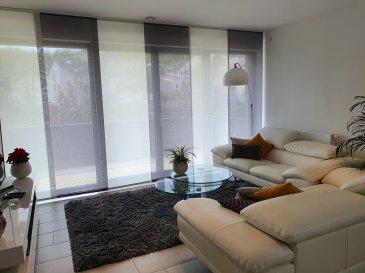 Bel appartement de 54 m2 avec balcon, une chambre, cuisine équipée, cave, parking intérieur.  Disponible le 01 juillet 2021  simon@sohoimmo.lu 621 674 905