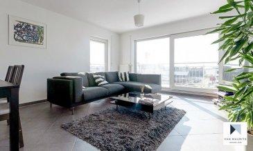 Ce bel appartement 1 chambre, au 2ème étage d'une résidence récente (2013) et bien tenue, est d'une surface habitable de ±64m². Le Kirchberg est à une dizaine de minutes de l'appartement situé à Contern, village disposant de toutes les commodités, (Boulangerie, épicerie, banque…). Une zone commerciale avec supermarchés est à quelques minutes également. L'appartement se compose comme suit :  Au 2ème étage : Un hall d'entrée avec vestiaire intégré donne sur le un grand et lumineux séjour de ±27m² ; une baie vitrée coulissante donne sur un balcon de ±10m² exposée plein sud ; une cuisine semi ouverte de ±5m² comprenant lave-vaisselle, four, plaque vitrocéramique, frigo, congélateur, hotte et nombreux rangements ; une chambre de ±16m² avec sa salle de bain de ±5m² (double vasque, baignoire/douche et sèche-serviette) ; une toilette séparée avec lavabo.  Au 1er sous-sol : Une cave de ±5m² ; un emplacement dans une buanderie commune ; une place de parking dans garage fermé.  Généralités :  Double vitrage, volets manuels, bonne isolation phonique ; Passeport énergétique : B-B ; Proche de Luxembourg-ville ; Proche des commerces ; Idéal pour une personne seule ou un couple ;  Loyer : 1600-€ - Charges : 280-€ (Hors électricité et internet) ; Garantie locative : 3 mois de loyer ; Disponible à partir 1er Juillet 2021 ; Bail de 1 an minimum; Frais d'agence ; 1 mois de loyer + TVA 17% ;  Agent responsable : Pierre-Yves Béchet Tél : +352 621 654 086 Email : Pierre-Yves@vanmaurits.lu