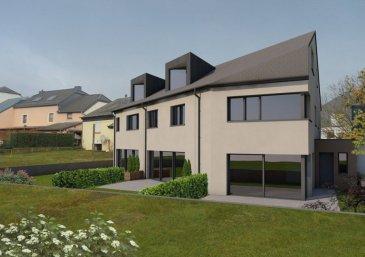 NOUVELLE CONSTRUCTION DE 3 MAISONS<br>                                   « LOT 2 » <br>             La maison sera livrée « clés en mains » <br><br>MAISON en état future construction, spacieuse et très moderne sis sur un terrain de 1.88 ares à Hobscheid<br>avec une surface totale de 209.86 m2.<br><br>-Rez-de-chaussée :   Hall d\'entrée de 7.94 m2, cuisine ouverte donnant sur un grand living d\'une surface de 48.52 m2 avec accès à une superbe terrasse de 19.17m2 et jardin. WC séparé de 1.80 m2, et un garage de 17.16 m2.<br><br>-Au premier étage :  3 chambres à coucher de (19.20 m2,  15.68 m2, et 14.85 m2)  salle de bains de 7.96 m2, WC séparé de 2.10 m2, buanderie / local technique de 7,63 m2,   -Au deuxième étage :  chambre à coucher parentale de 22.60 m2, espace de loisirs de 25.45 m2, une salle de bains de 8.30 m2.<br><br>TITRE d\'INFO:<br>triple vitrage, volets électriques, pompe à chaleur, chauffage au sol dans toutes les pièces, classe énergétique AA (VMC) ventilation mécanique contrôlée, revêtements et finitions de qualité, terrasse, avec peinture comprise et un bon d\'achat d\'une valeur de 12.000,00 € pour une cuisine équipée <br><br> GARANTIE DÉCENNALE + GARANTIE D\'ACHÉVEMENT<br>Le prix 3% TVA incl. s\'élève à 1.050.000,00.- Euros <br>Pour plus de renseignements ou une visite (visites également possibles le samedi sur rdv), veuillez contacter le 691 850 805