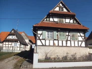GC Immobilier vous propose en exclusivité une maison alsacienne avec dépendances et jardin à Aschbach.   La maison a été construite dans les années 1700 et reconstruite après-guerre. La superficie du bien et d'environ 80 m2 sur un terrain de 7 ares.  La maison est entièrement à rénover et les travaux de raccordement à l'assainissement restent à refaire.  Attenant à la maison se trouve la grange, et à l'arrière de la grange se trouve le jardin.  Les frais d'agence sont à la charge de l'acquéreur et sont compris dans le prix.  Contactez votre agent immobilier Nadia Billmann qui vous conseillera et renseignera. GC Immobilier - 03 88 94 79 91 ou portable 06 84 79 14 92.