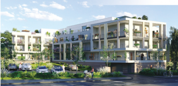 Un appartement T2 d'une surface de 49 m2 avec un balcon de 12 m2. Possibilité d'avoir un parking extérieur pour le prix de 5000 €.