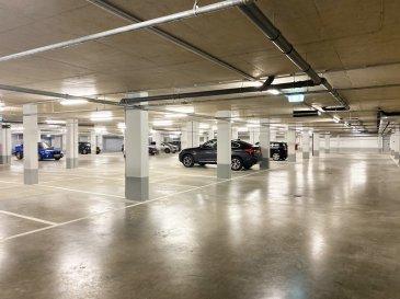 Ban de Gasperich, a louer un emplacement intérieur pour 1 voiture dans le sous-sol d'une résidence tout juste construite. A proximité de directe de Deloitte, PwC, Auchan.  Disponibilité immédiate.  Votre contact: Yves Rogowski: (+352) 621 455 455 E-mail: info@house-invest.lu