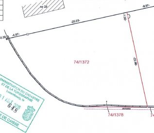 Terrain constructible à Fischbach (Mersch)