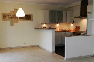 Contact : Lydie Popadenec-Borella lydie.popadenec@remax.lu  Situé à Schouweiler, au rez-de-chaussée d'une résidence soignée, bel appartement d'environ 55m², avec une magnifique terrasse de 43 m².  Cet appartement se compose comme suit :  Une belle entrée d'environ 6m² dessert :  - une belle pièce de vie et sa cuisine cuisine ouverte équipée d'environ 30 m² , avec accès direct à une magnifique terrasse privative d'environ 43m². - une chambre de 12m² donnant également sur la terrasse. - une salle de bain  - un WC avec lave main.  Au sous-sol, un grand garage privatif fermé avec espace