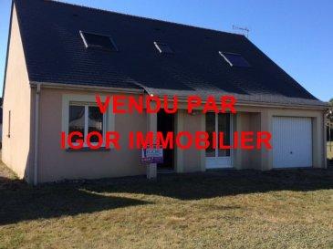Maison Derval 7 pièce(s) 124 m2. TROP TARD VENDU PAR IGOR IMMOBILIER