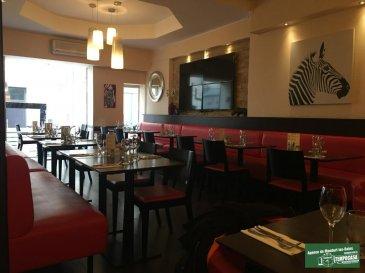 AFFAIRE A SAISIR!!! Tempocasa Mondorf vous propose à vendre un fond de commerce d'un restaurant entièrement climatisé à Thionville dans la rue piétonne composée ainsi:   Cuisine équipée:  1 Piano / 1 Plancha / 2 Fours Vapeur / 1 Friteuse / 3 Bahuts Frigo / 1 Frigo / 1 Chambre Froide 10m² / 1 hotte / 1 Plonge / Four Micro Onde / Kitchenette / Casseroles - Vaisselle / Batterie de Cuisine / 1 Gros Congélateur  Restaurant de 150m² composé ainsi:  48 places assises ( 2 services) / Terrasses 24m² ( 20 places assises)  Certificats normes handicapés  Charges: eau 600' - 6 mois / Gaz 250' mois / Electricité 1300 - 2 mois  BENEFICE NET IMPORTANT!!!!  Pas sérieux s'abstenir!!    Ref agence :JP112