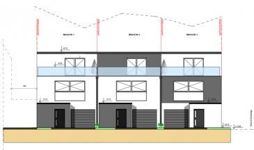 Futur projet de construction d'une maison situé à Weidingen - Wiltz Vente en future d'achèvement (VEFA)  Passeport énergétique: A - A   Maison de 160.53m², se compose de la manière suivante:  rez-de-chaussée: Hall d'entrée , garage pour une voiture, locale technique + grande cave  premier étage: Un grand living avec accès à la terrasse de 13m2, cuisine ouverte / salle à manger ouverte sur living plus un WC séparé.  deuxième étage: a) chambre parental avec salle de douche et WC indépendant plus balcon privatif de 8.3m²,  b) deux autres chambres, et une salle de bain avec WC.  *Prix annoncé est calculé à 3% * à conditions d'obtention d'agrément et limites imposées par l'administration de l'enregistrement / TVA Logement.  Cahier de charges, liste de prix et plans sont disponibles sur simple commande.  N'hésitez pas à contacter notre agence pour toute information supplémentaire ou visitez notre page www.immocolor.lu   Vous souhaitez changer votre bien immobilier? Nous pouvons trouver un bon compromis... Donnez de l'ancien, et reprenez du nouveau... toutes offres sont à adresser à contact@immocolor.lu