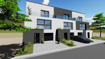 Futur projet de construction d'une maison situé à Weidingen - Wiltz Vente en future d'achèvement (VEFA)  Passeport énergétique: A - A   Maison n°1: de 160.53m², se compose de la manière suivante:  rez-de-chaussée: Hall d'entrée , garage pour une voiture, locale technique + grande cave  premier étage: Un grand living avec accès à la terrasse de 13m2, cuisine ouverte / salle à manger ouverte sur living plus un WC séparé.  deuxième étage: a) chambre parental avec salle de douche et WC indépendant plus balcon privatif de 8.3m²,  b) deux autres chambres, et une salle de bain avec WC.  Le promoteur garantie toutes les assurances obligatoires tels que: garantie d'achèvement, garantie décennale et biennale, test étanchéité avec certificat d'une entreprise agréée au Luxembourg, blowerdoor test, etc...    *Prix annoncé est calculé à 3% * à conditions d'obtention d'agrément et limites imposées par l'administration de l'enregistrement / TVA Logement.  Cahier de charges, liste de prix et plans sont disponibles sur simple commande.  N'hésitez pas à contacter notre agence pour toute information supplémentaire ou visitez notre page www.immocolor.lu   Vous souhaitez changer votre bien immobilier? Nous pouvons trouver un bon compromis... Donnez de l'ancien, et reprenez du nouveau... toutes offres sont à adresser à contact@immocolor.lu