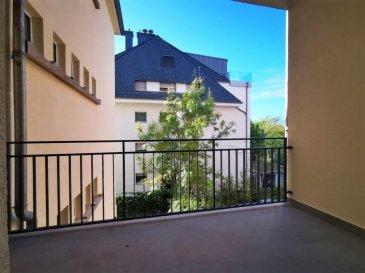 Dalpa SA vous propose à louer, un charmant appartement entièrement rénové de 3 chambres à coucher sur +/- 129 m², situé à Luxembourg-Belair et à quelques pas du Parc de Merl.   Disponibilité : immédiate   L'objet se situe au : 2, rue de Bragance, L-1255  Situé au 1er étage l'appartement se compose :  - 1 spacieux hall d'entrée avec un accès direct à l'ascenseur - 1 cuisine équipée  - 1 vaste pièce de séjour & salle à manger très lumineuse - 3 chambres à coucher dont deux avec salle de douche et une avec accès balcon - 1 salle de bain - 1 WC séparé  Au sous-sol une cave complète ce bien.   Possibilité de louer un garage fermé pour un supplément de 250 €  Situé au plein cœur du centre-ville, Belair est un quartier recherché pour son calme et sa qualité de vie. Le quartier doit sa popularité surtout grâce à sa proximité aux commerces, ainsi que ses entourages verts dont celui du Parc de Merl.   Nous sommes à votre entière disposition pour tous renseignements complémentaires ou visites des lieux. Veuillez contacter Antonio Lobefaro sous le numéro + 352 621 469 311 ou par mail sur info@dalpa.lu   Si vous souhaitez vendre ou louer votre bien, nous mettons à votre disposition notre professionnalisme, savoir-faire ainsi que notre qualité de service. Nous vous proposons des estimations rapides, gratuites et réalistes.  ENGLISH VERSION  Dalpa SA offers for rent, a charming, completely renovated apartment of 3 bedrooms of +/- 129 m², located in Luxembourg-Belair, a few steps from Parc de Merl.  Availability : immediate  The object is located at: 2, rue de Bragance, L-1255  Located on the 1st floor, the apartment is composed as follows:  - 1 spacious entrance hall with a direct access to the elevator - 1 equipped kitchen  - 1 very luminous and extensive living & dining room  - 3 bedrooms two of which with a shower room and one with a balcony - 1 bathroom  - 1 guest WC   In the basement a cellar completes this ensemble.  Possibility to rent a closed garage for an additional 250 
