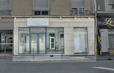 L'agence IMMO LORENA de Pétange en collaboration avec FRONGIA SARL Agence Immobilière a choisi pour vous  AU CENTRE VILLE DE LONGWY-BAS UN LOCAL COMMERCIAL D'UNE SUPERFICIE DE 95M² (ancien salon de coiffure) OU TOUT AUTRES ACTIVITES COMMERCIALES. COMPRENANT:  - Une entrée,  - Une grande salle avec 3 vitrines,  - Un vestiaire,  - Un bureau,  - Un WC,  - Une cave.  NORMES HANDICAPEES. CLIMATISATION REVERSIBLE. DOUBLE VITRAGE. STATIONNEMENT FACILE. LOCAL DISPONIBLE DE SUITE.  TAXE FONCIERE 1411 €  Pour tout contact: Joanna RICKAL: 621 36 56 40 (FR) Vitor Pires: 691 761 110 (PT, IT, UK, FR)  L'agence ImmoLorena est à votre disposition pour toutes vos recherches ainsi que pour vos transactions LOCATIONS ET VENTES au Luxembourg, en France et en Belgique. Nous sommes également ouverts les samedis de 10h à 19h sans interruption. Demander plus d'informations