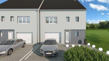 Terrain à vendre avec ou sans contrat de construction. 3 maisons en bande seront construits.